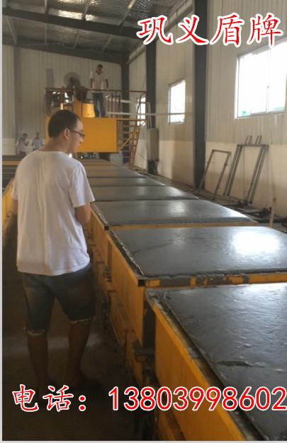 日产200立方免蒸加气砖设备客户现场